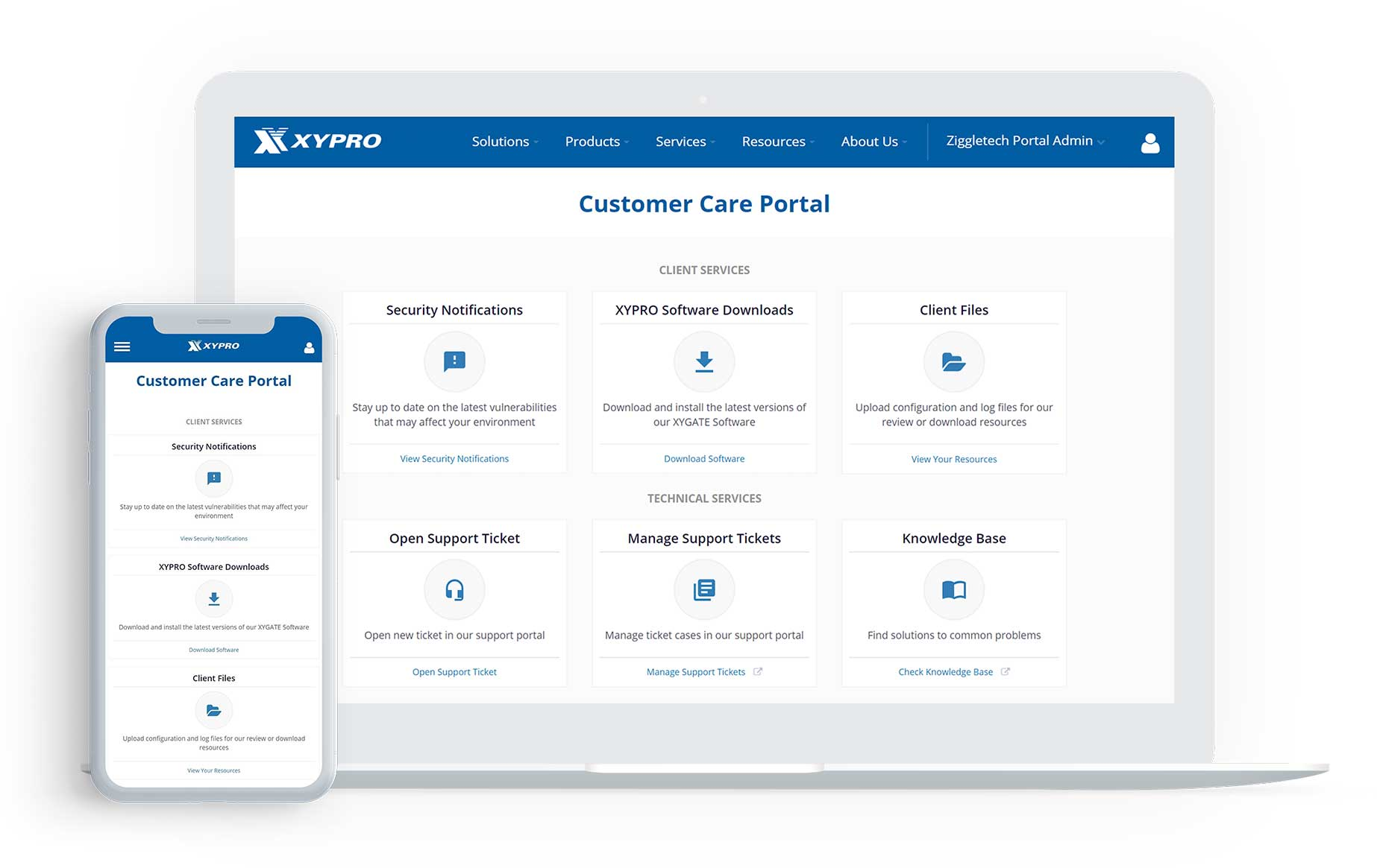 Customer Portal Replatforming